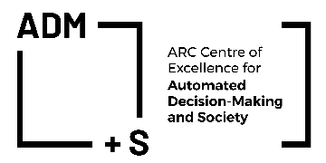 ARC CENTRE OF EXCELLENCE FOR AUTOMATED DECISION-MAKING AND SOCIETY logo