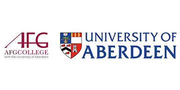 AFG COLLEGE WITH THE UNIVERSITY OF ABERDEEN logo