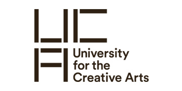 UNIVERSITY FOR THE CREATIVE ARTS (UCA) logo