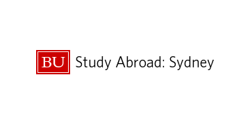 BOSTON UNIVERSITY STUDY ABROAD SYDNEY logo