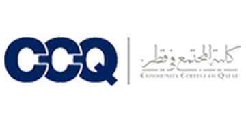 THE COMMUNITY COLLEGE OF QATAR logo