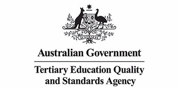 TERTIARY EDUCATION QUALITY AND STANDARDS AGENCY (TEQSA) logo