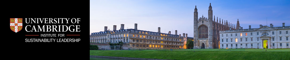 CAMBRIDGE INSTITUTE FOR SUSTAINABILITY AND LEADERSHIP