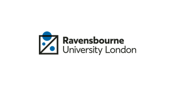 RAVENSBOURNE UNIVERSITY LONDON logo