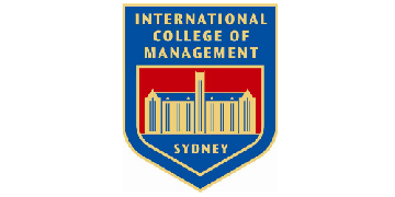 INTERNATIONAL COLLEGE OF MANAGEMENT, SYDNEY logo