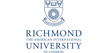 RICHMOND, THE AMERICAN INTERNATIONAL UNIVERSITY IN LONDON logo