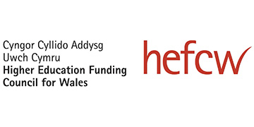 THE HIGHER EDUCATION FUNDING COUNCIL FOR WALES logo