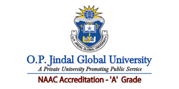 O.P. JINDAL GLOBAL UNIVERSITY logo