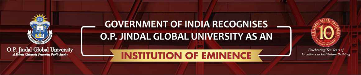 O.P. JINDAL GLOBAL UNIVERSITY